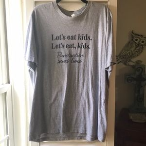 Heather gray shirt